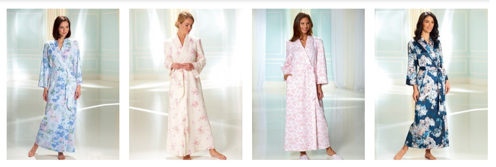 luxury plus size dressing gown